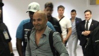 'O maestro chegou'... Santistas recebem Sampaoli com festa em SP (Instagram)