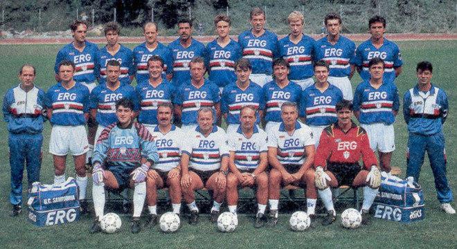 A Samp do título inédito e único de 1990/91