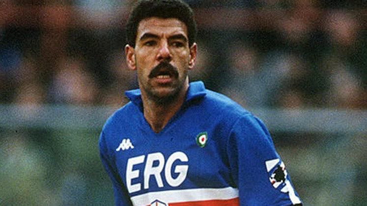 SAMPDORIA - Toninho Cerezo viveu seu auge no clube, liderando o time em sua única conquista do Calcio - 1990-91., Completam essa lista VERONA - 1984-85\CAGLIARI - 1969-70\CASALE - 1913-1914\NOVESE - 1921-1922.
