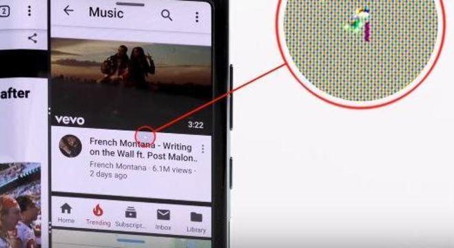 Barrão aparece na tela do Samsung dobrável após 18.500 repetições