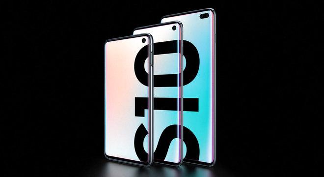 Samsung apresenta três novos smartphones  da linha Galaxy