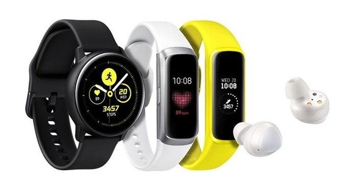 Os novos smartwatch da Samsung são mais leve e mais compactos
