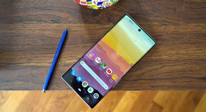 Samsung Galaxy Note 10 Lite 128gb em promoção de R$ 2.193,88 por R$ 1.990,00 nas Casas Bahia