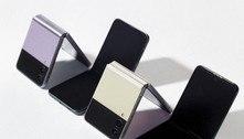 Samsung revela novos modelos de smartphones dobráveis