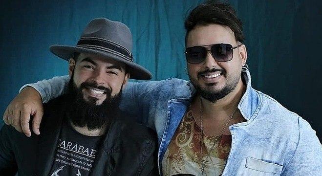 Gustavo e Samuel em foto publicada no Instagram da dupla