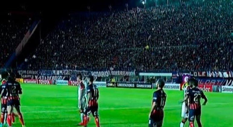 San Lorenzo 2 x 1 Flamengo - fase de grupos 2017