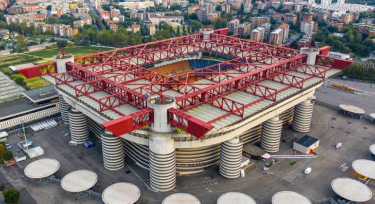 O Stadio di San Siro, em Milão
