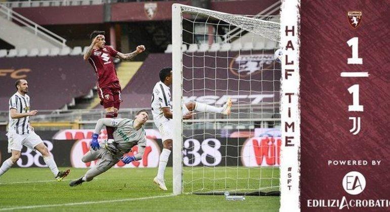Sanabria, quatro gols no Campeonato, dois na Juventus