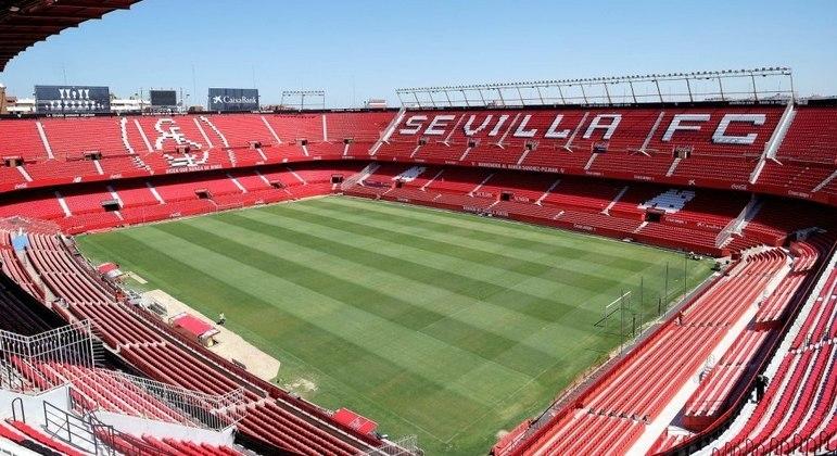 O Sánchez-Pizjuán, palco da decisão da Liga Europa