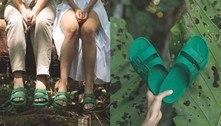 Coleção de sandália doa lucro à 1ª organização indigenista do Brasil