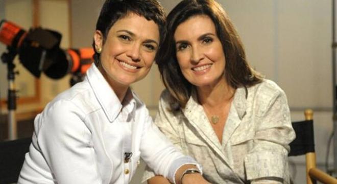 Fátima Bernardes recebeu o apoio da amiga e companheira de emissora de TV