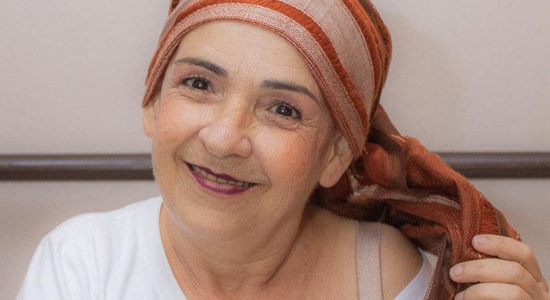 Sandra descobriu o câncer no fim do ano passado, em plena pandemia