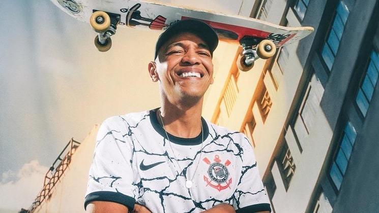Sandro Testinha, presidente da Associação Social Skate, foi mais um convidado especial da campanha