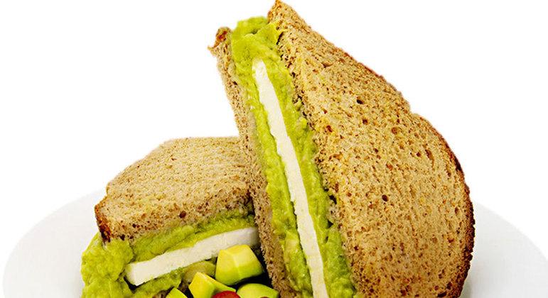 Sanduíches vegetarianos