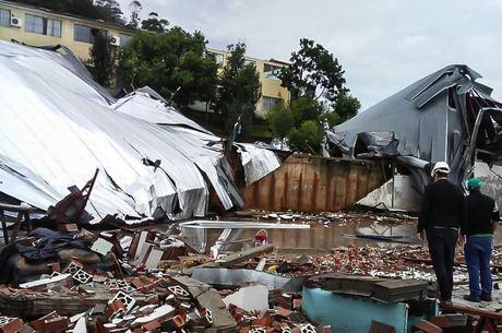 Defesa Civil diz que 25 cidades foram atingidas em SC