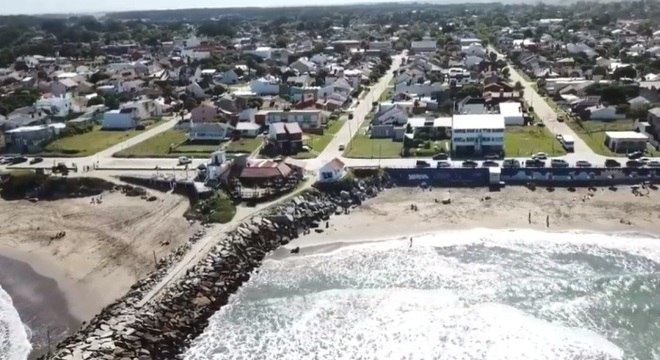 Incidente aconteceu no balneário argentino de Santa Clara del Mar