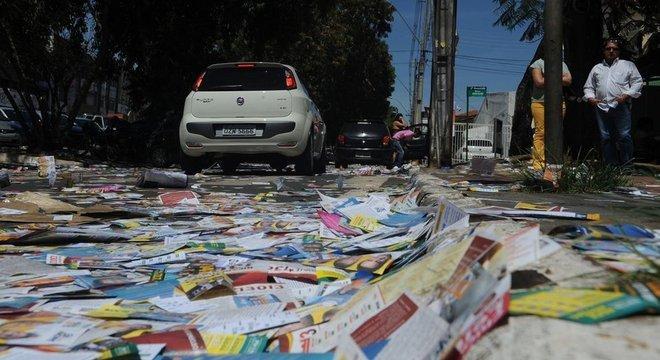 Panfletos terão de parar de ser distribuídos na véspera da votação