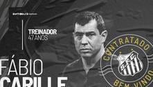 Fábio Carille é anunciado novo treinador do Santos