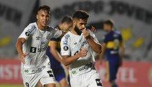 Estreia sensacional de Diniz, Santos surpreende e vence o Boca