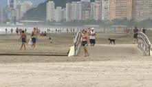 Santos bloqueia praias e antecipa restrições do Plano São Paulo