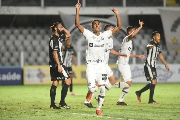 Santos: 15 gols na temporada (Campeonato Paulista e Libertadores)