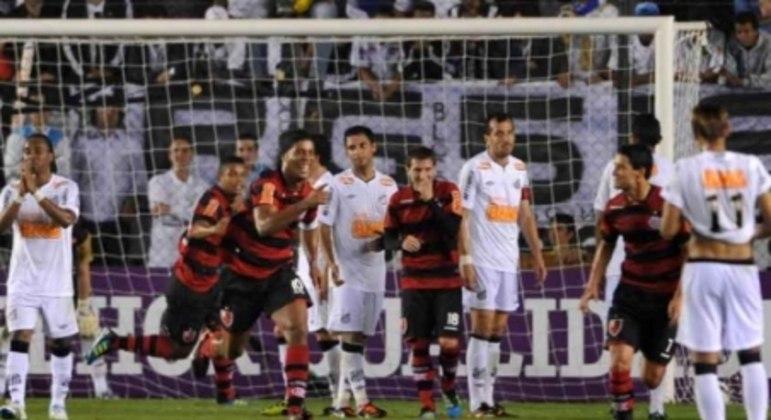 Santos 4x5 Flamengo - Brasileirão de 2011 - 27/7/2011