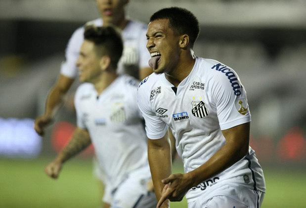SANTOS – 54 milhões de euros (R$ 335,9 milhões) é o valor do Santos, primeiro elenco brasileiro da lista.