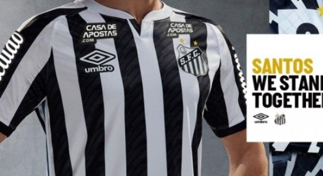 Santos Camisa 2 - 2020