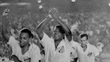 No Maracanã, Santos e Palmeiras têm conquistas inesquecíveis