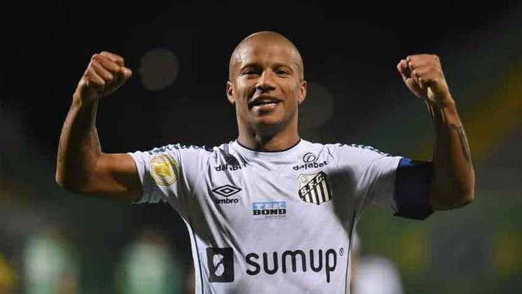 Santos: cenário 1 (sem transferências de atletas) - Receitas: R$ 130 milhões - Folha salarial: R$ 136 milhões - Receitas x Folha (em %): 105% - Conclusão: acima do fair play financeiro.