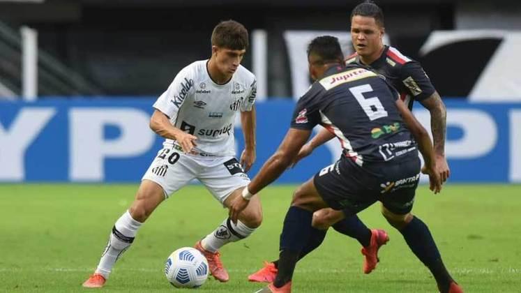 Santos: eliminou o Cianorte com placar agregado de 3 a 0