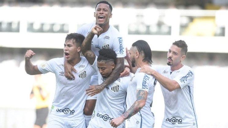 Santos – empatado com o clube mineiro, o Peixe também soma 40 viradas desde que o Brasileirão passou a ser em pontos corridos, em 2003.