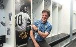 Sobre o retorno ao Peixe, agora como treinador, Diniz disse: 'É um prazer poder ser treinador do Santos, clube que já tive a honra de passar como jogador. É o time do Pelé, o que já faz o time estar entre os maiores do mundo. Eu me entregarei com toda força que eu tenho para poder ajudar o Santos'.