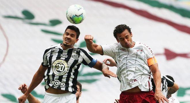 Santos e Fluminense se enfrentaram no Maracanã