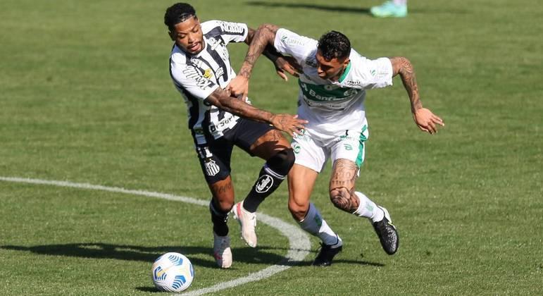 Santos perde para Juventude e fica a um ponto da zona de rebaixamento