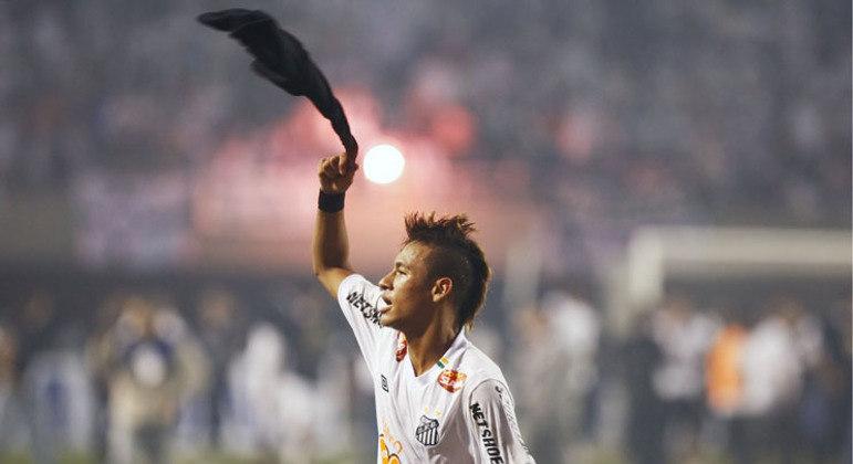 Há 10 anos, Santos vencia o Peñarol e conquistava a Libertadores pela terceira vez