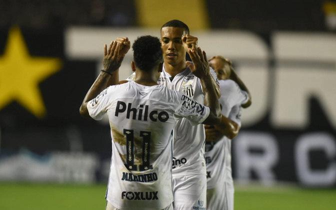 SANTOS: O Peixe também chega através da Libertadores e quer melhorar o desempenho na Copa do Brasil. A última aparição do Santos na final do torneio foi em 2015