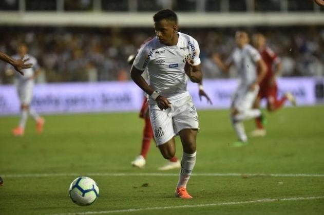 SANTOS - Rodrygo, atualmente no Real Madrid