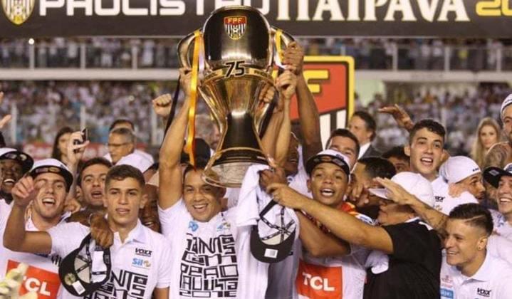 SANTOS - Última conquista: Campeonato Paulista 2016