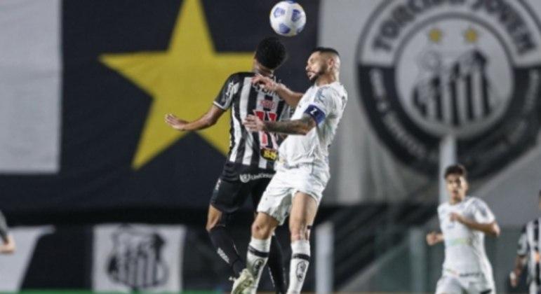 Santos x Atletico MG