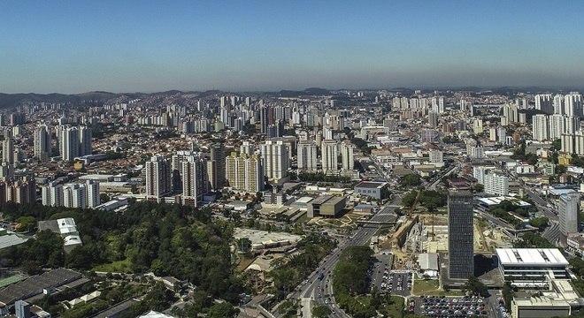 Na foto, São Bernardo do Campo (SP) é uma das cidades que irão receber o título