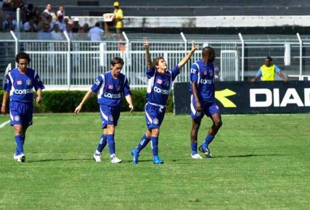 São Caetano (2006). O tradicional time de São Paulo foi rebaixado na 19ª colocação.