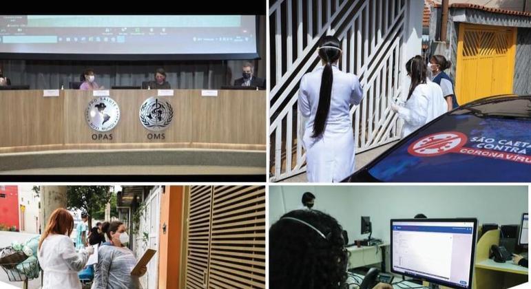 São Caetano do Sul (SP) é premiado pela OMS por iniciativas contra o coronavírus
