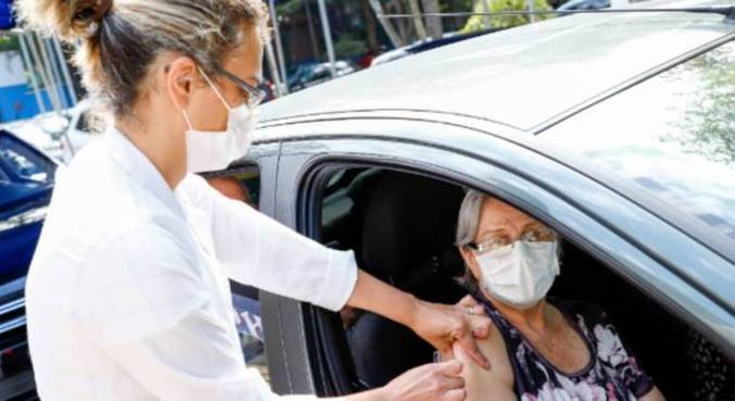 Idosos de 69 anos ou mais serão vacinados em São Caetano do Sul (SP)