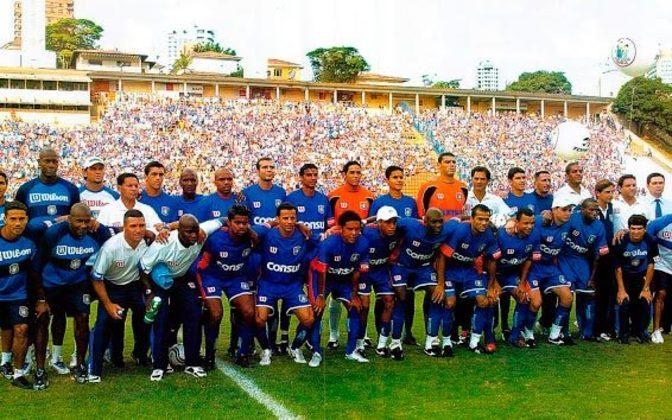 São Caetano - O clube foi campeão paulista em 2004 e vice da Libertadores em 2002.