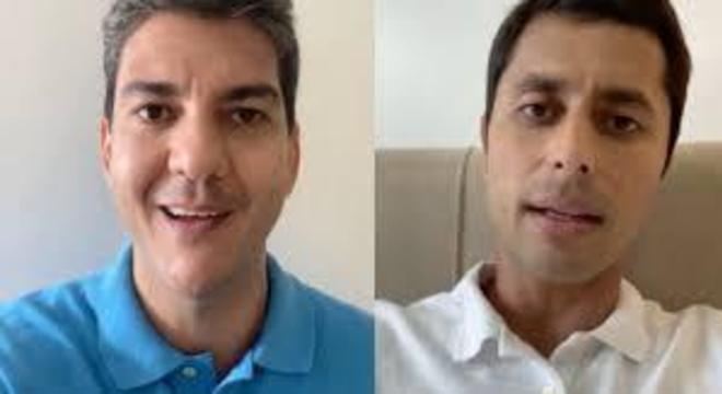 Os candidatos Eduardo Braide (Podemos) e Duarte Júnior (Republicanos)