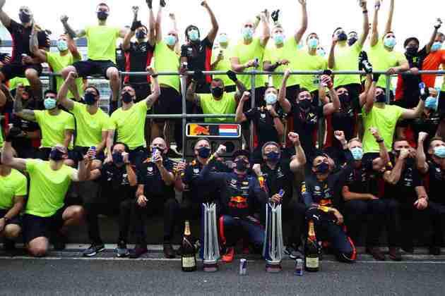 São nove vitórias para Max Verstappen na Fórmula 1