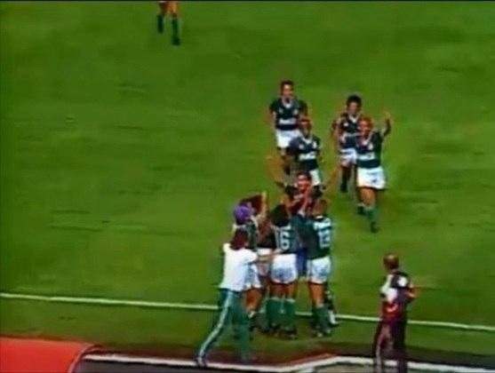 São Paulo 0 x 4 Palmeiras (8/3/1992) - Brasileirão