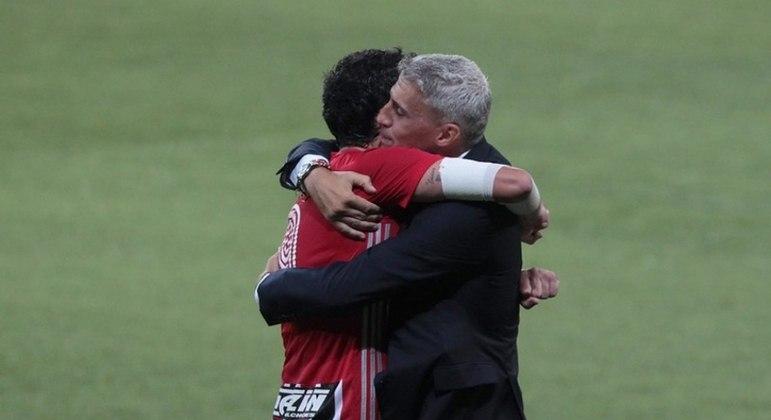 São Paulo vive fase espetacular com Hernán Crespo. Grande atrativo no clássico