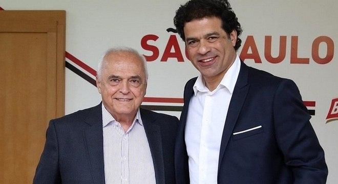 Leco e Raí defendem que o São Paulo se torne uma empresa. Com capital aberto